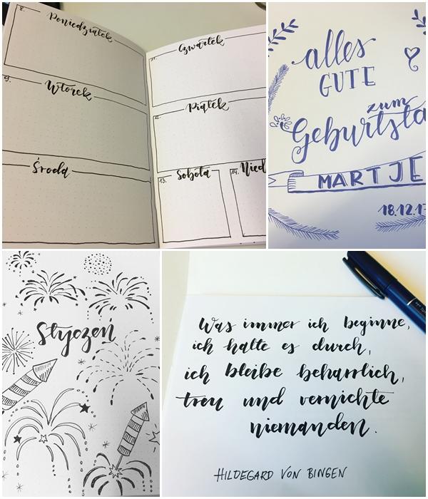 1 - Nauka letteringu, co to jest Hand Lettering, kaligrafia. Podstawy, jak zacząć i moje trudne początki