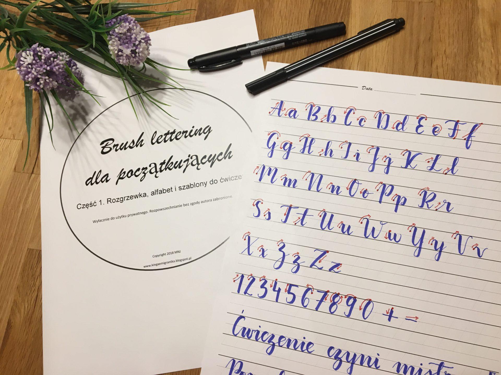 FullSizeRender - Darmowe szablony do brush letteringu