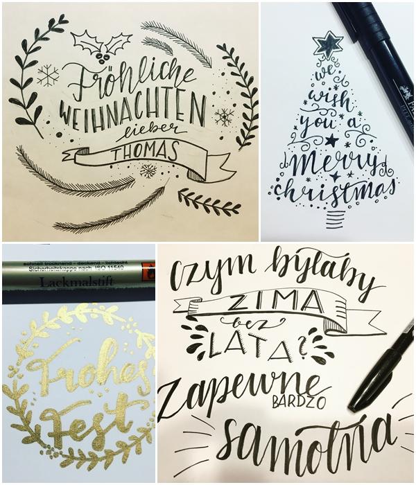 page - Nauka letteringu, co to jest Hand Lettering, kaligrafia. Podstawy, jak zacząć i moje trudne początki