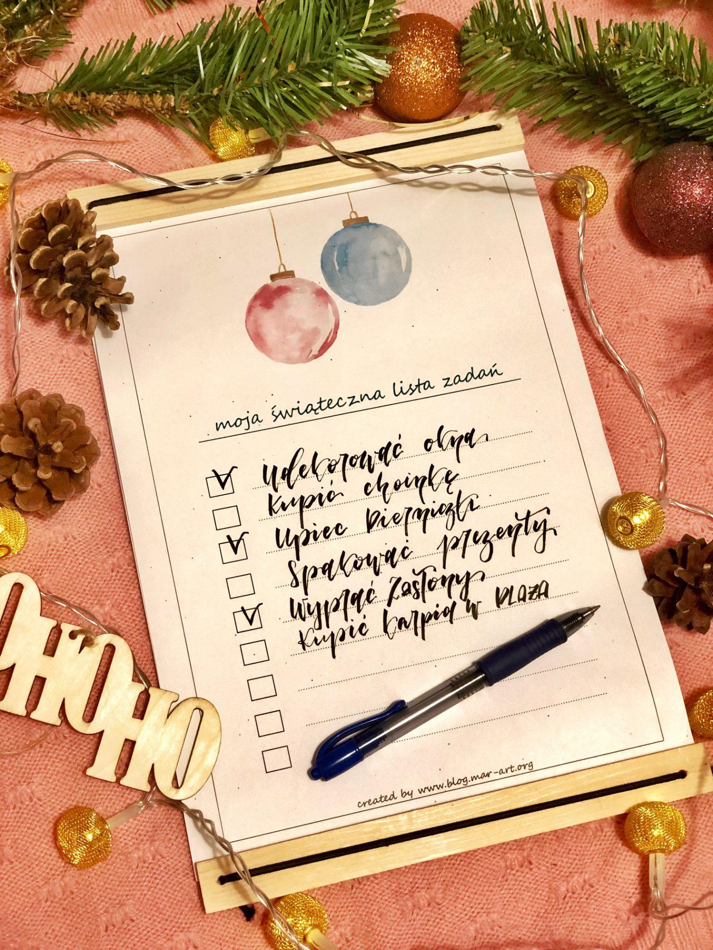 IMG 0965 - świąteczna lista zadań - do druku