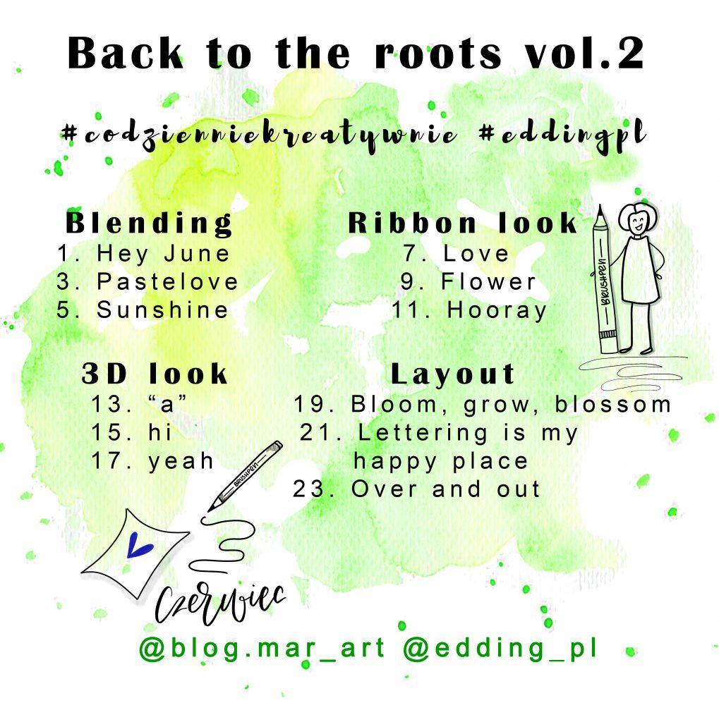 back to the roots vol 1019x1024 - Kreatywne wyzwania na instagramie #codzienniekreatywnie