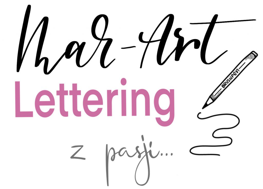 logo Mar Art 1 1024x735 - Szukam ambasadorek do mojego kursu online brush lettering
