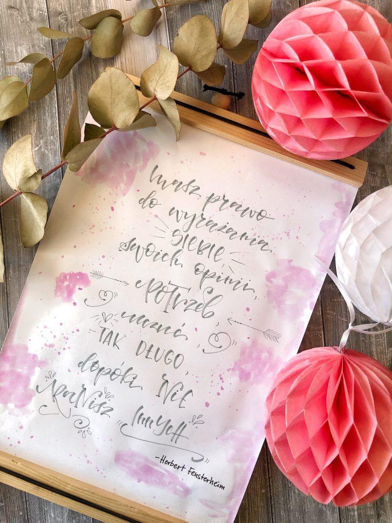 Snapseed 768x1024 - Wyzwanie letteringowe #codzienniekreatywnie i nauka letteringu