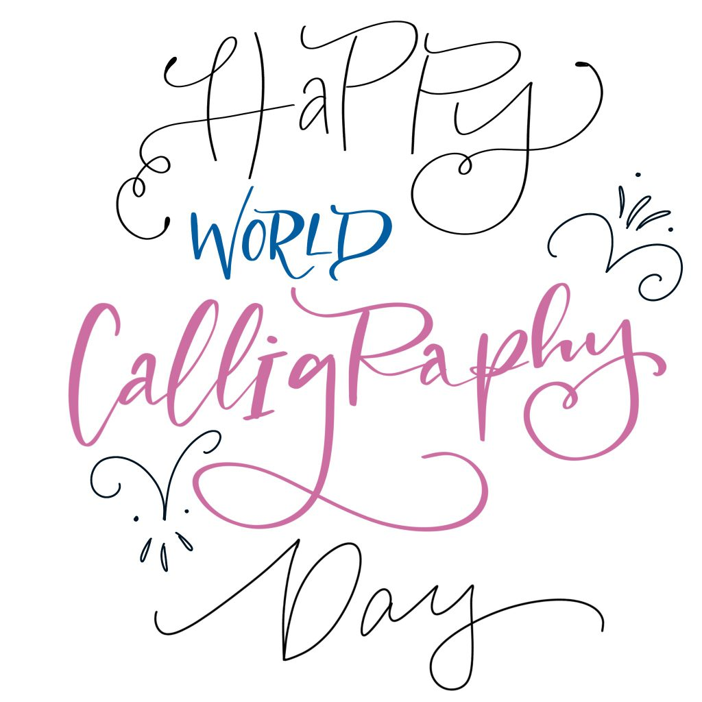 lettering vs kaligrafia 1024x1024 - Happy world calligraphy day !