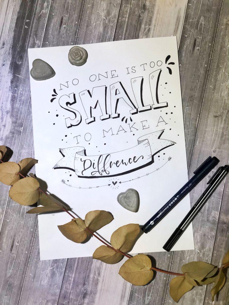 Snapseed 768x1024 - 5 najczęściej popełnianych błędów podczas nauki letteringu