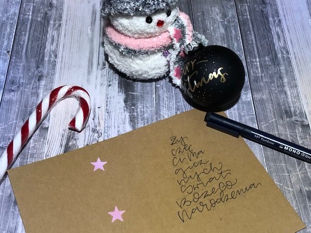 """IMG 1484 - Jak wykonać kartkę świąteczną """"choinka"""" -szablon"""
