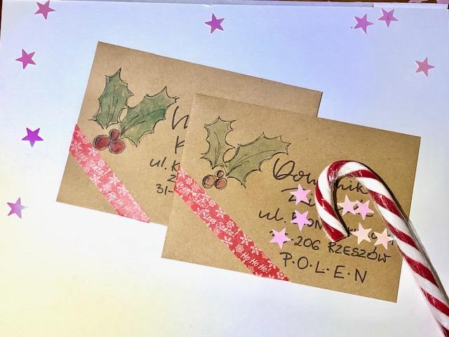 """IMG 1493 - Jak wykonać kartkę świąteczną """"choinka"""" -szablon"""