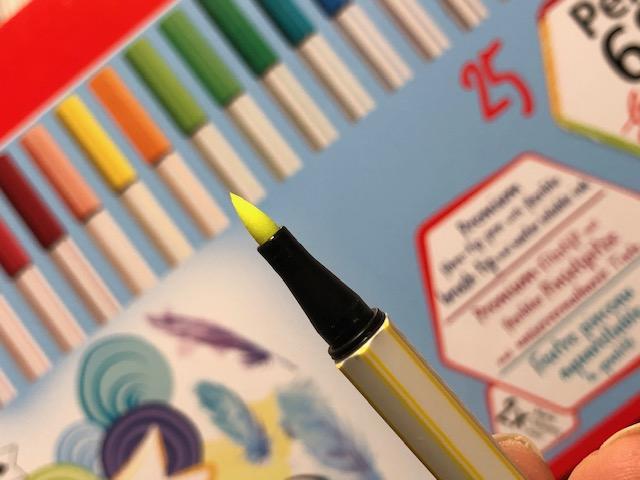 IMG 2330 - Recenzja stabilo brush pen 68 - czy warto ?