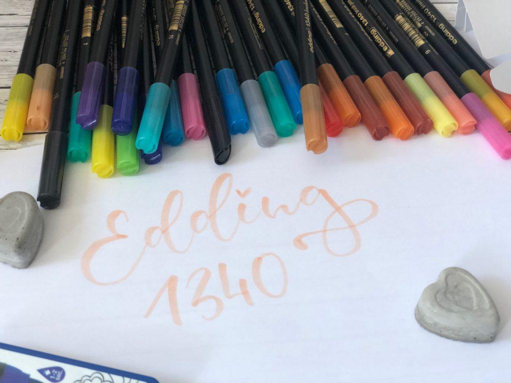 IMG 2539 1024x768 - Recenzja brush pen edding 1340 - dowiedz się czy warto?