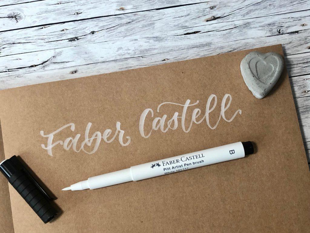 IMG 2778 1024x768 - Test pięciu białych pisaków, w tym biały brush pen