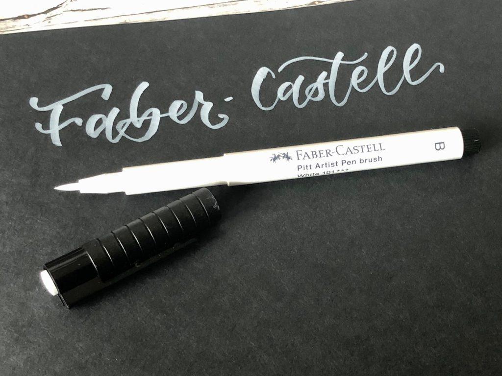 IMG 2786 1024x768 - Test pięciu białych pisaków, w tym biały brush pen