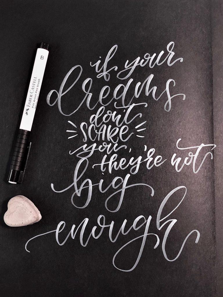 IMG 2794 768x1024 - Test pięciu białych pisaków, w tym biały brush pen