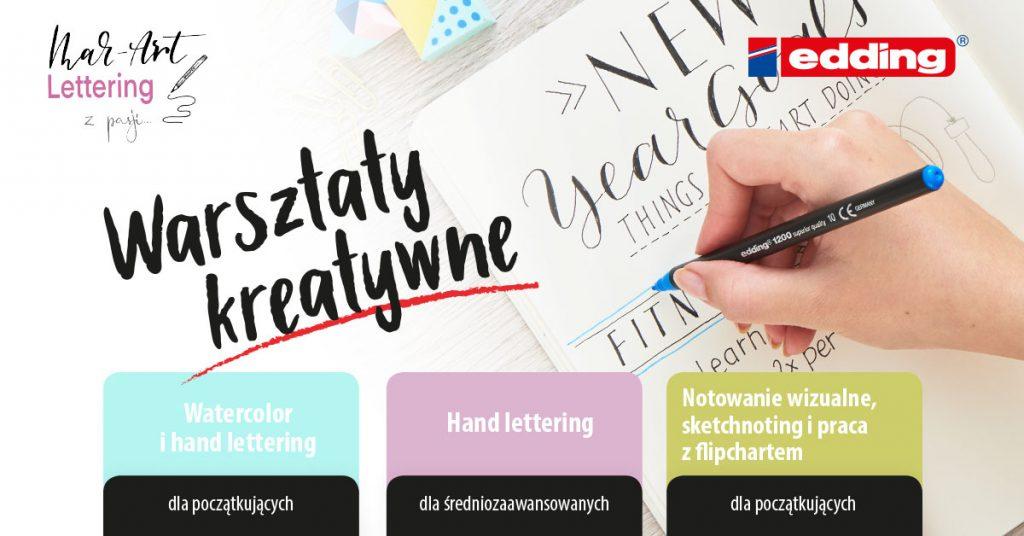 warsztaty kreatywne cover wydarzenie 1024x536 - Lettering na walentynki- czyli podsumowanie wyzwania