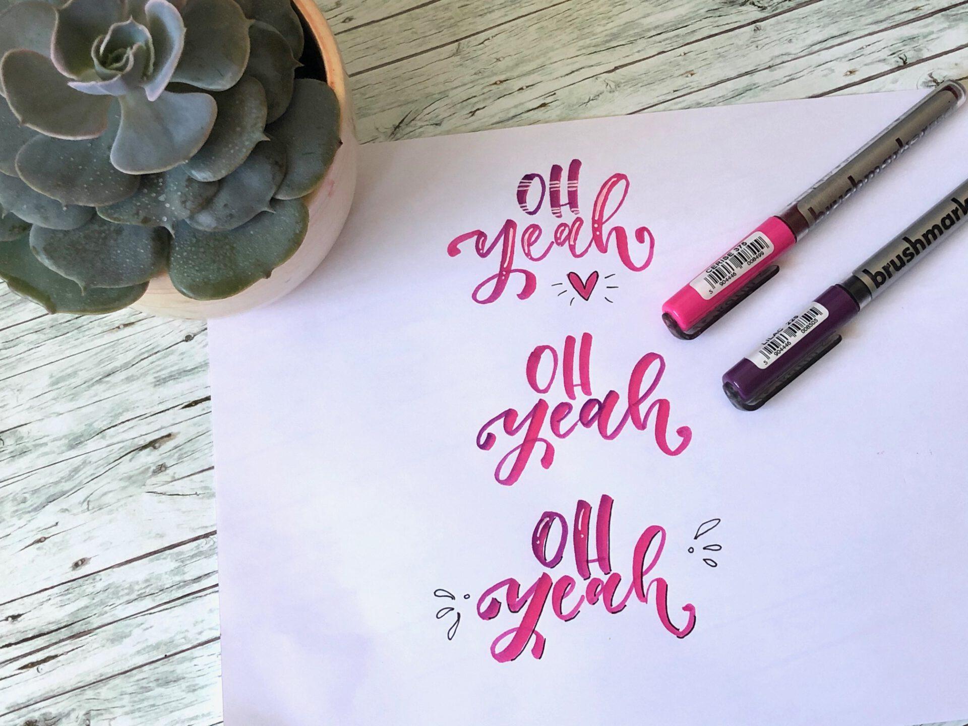 IMG 4150 - Hand lettering kurs online