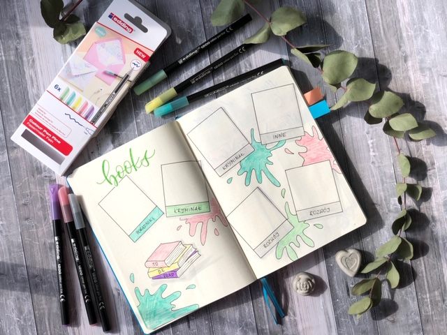 bullet journal brush lettering - Hand lettering kurs online