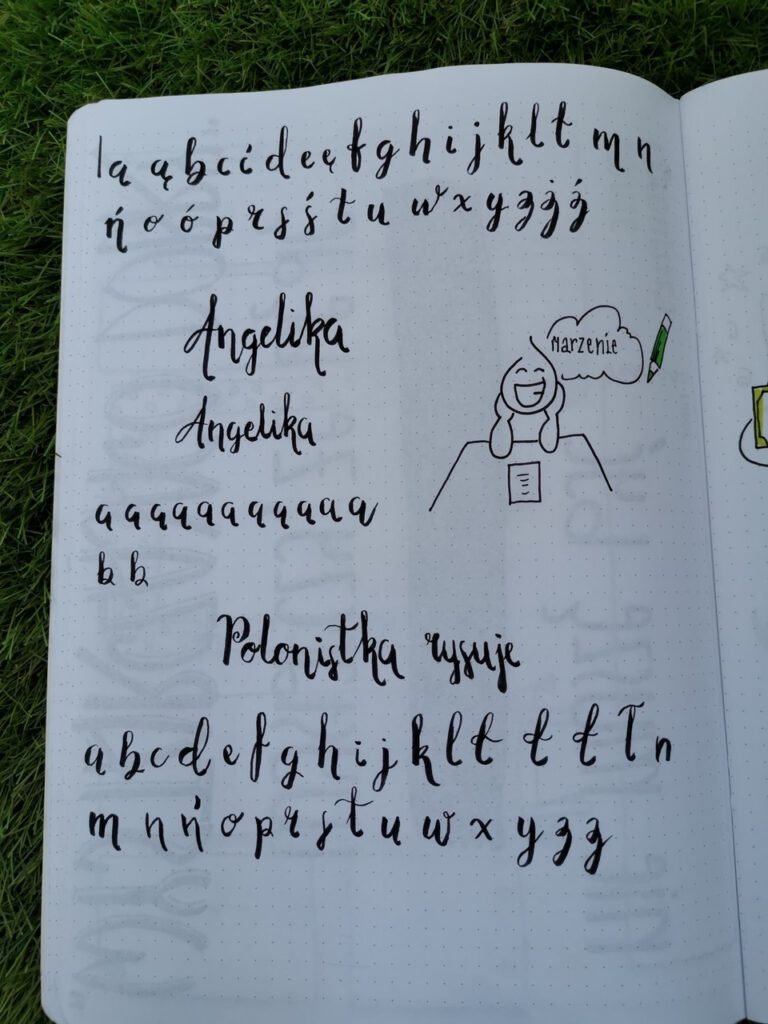 "IMG 5238 768x1024 - Arkusze do brush letteringu oraz premiera kursu ""hand lettering"""