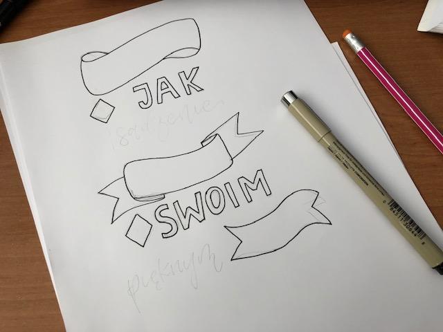 bounce lettering i kaligrafia - Jak stworzyć kompozycję - hand lettering