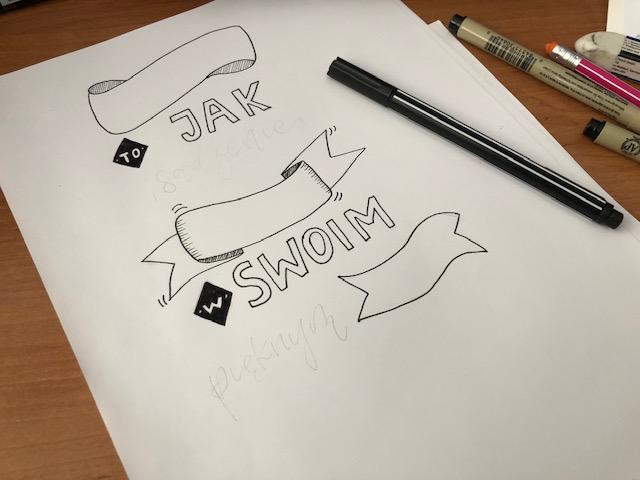 brush lettering layout - Jak stworzyć kompozycję - hand lettering