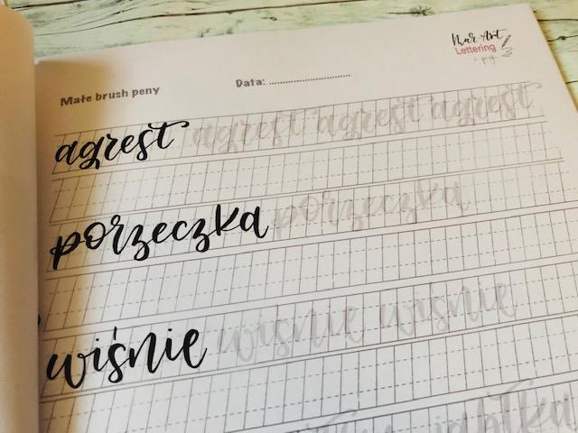 bounce lettering karty do nauki - Szablony do bounce lettering i konkurs