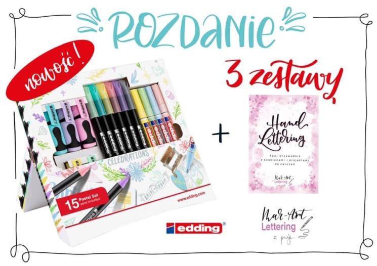 rozdanie edding polska 745x526 - Jesienne rozdanie z edding Polska na instagramie