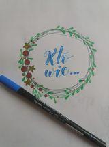 Anna lettering świąteczny - Podsumowanie wyzwania- lettering świąteczny
