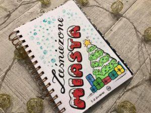 Izabela lettering świąteczny 300x225 - Podsumowanie wyzwania- lettering świąteczny