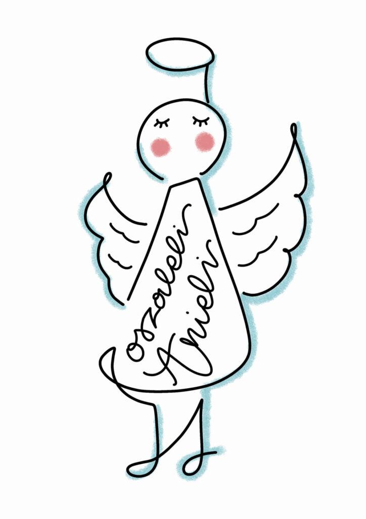 Ola S Lettering świąteczny 724x1024 - Podsumowanie wyzwania- lettering świąteczny
