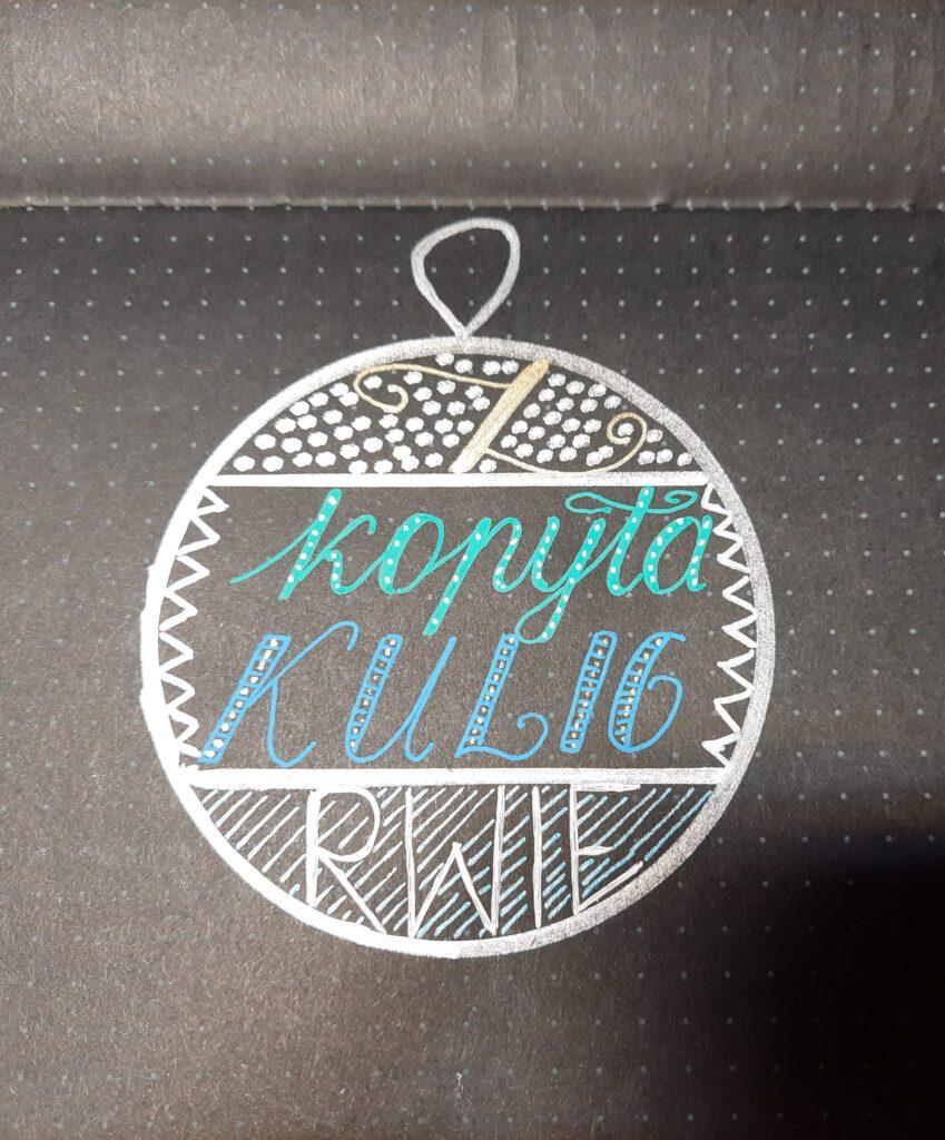 Sylwia lettering świąteczny 849x1024 - Podsumowanie wyzwania- lettering świąteczny