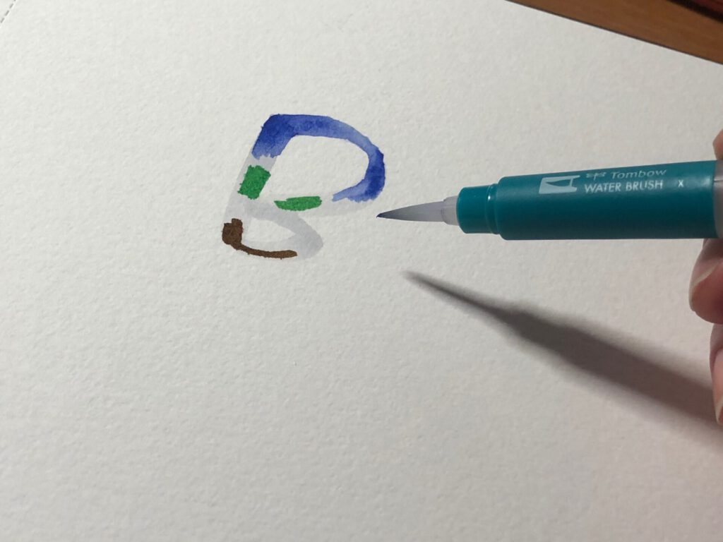 blendowanie liter 1024x768 - Brush lettering - co to jest blending?
