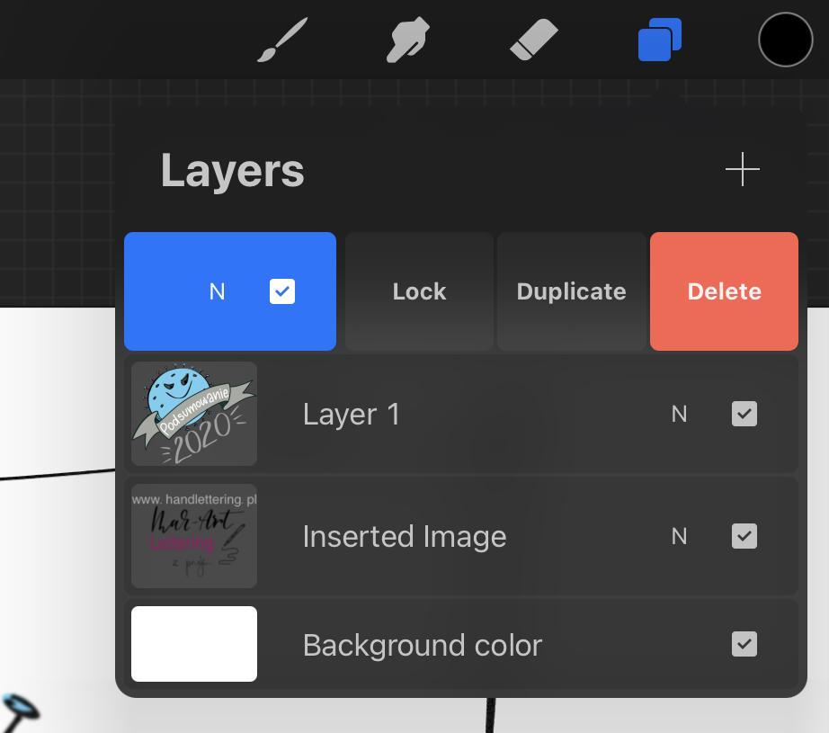 layer w procreate instrukcja - Procreate - jak działają warstwy (layer)