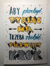 19 Ola K W brushlettering wyzwanie Kopie - Podsumowanie wyzwania - noworoczny lettering
