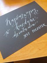 29 Anna N brush lettering - Podsumowanie wyzwania - noworoczny lettering