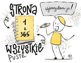 Anna N myślenie wizualne - Podsumowanie wyzwania - noworoczny lettering