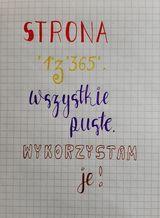 Kinga Z oszukana kaligrafia - Podsumowanie wyzwania - noworoczny lettering