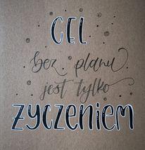 polonistka nie tylko rysuje wyzwanie letteringowe - Podsumowanie wyzwania - noworoczny lettering