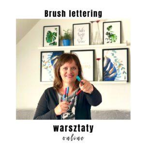 brush lettering warsztaty online